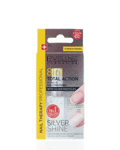 Eveline Tratament Unghii 12 ml Silver Shine 8 in1