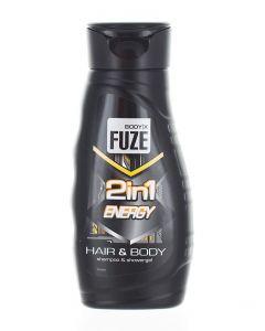 Body-X Fuze Gel de dus Barbati 300 ml 2in1 Energy