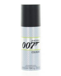 James Bond Spray Deodorant Barbati 150 ml Cologne