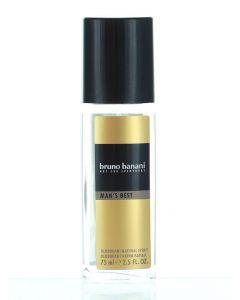 Bruno Banani Spray natural pentru barbati 75 ml Man'S Best