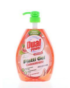 Dual Power detergent pentru vase cu pompa 1000 ml Aloe & Melograno