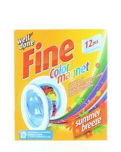 Well Done Fine Absorbant de culoare 12 buc Color Magnet Summer Breeze