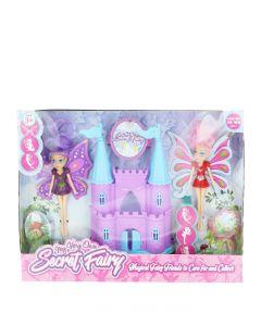 Jucarie Set castel cu papusile Secret Fairy