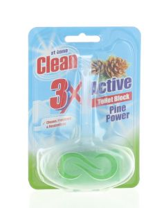 At Home Odorizant wc cu suport 40 g 3XActive Pine Power