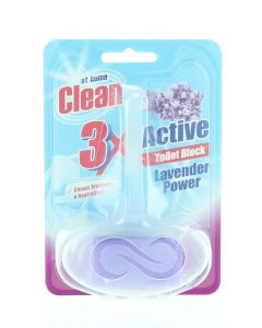 At Home Odorizant wc cu suport 40 g 3XActive Lavender Power