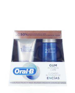 Oral-B Pachet:Pasta de dinti+Gel de protectie 85+63 ml Gum Intensive Care (exp:29.09.2021)