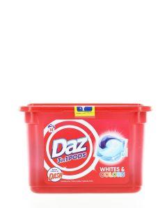 Daz(Dash) Detergent Capsule 14 buc 3in1 Whites&Colors