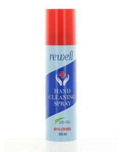 Rewell Spray pentru curatarea mainilor 150 ml Aloe Vera