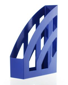 Herlitz Suport Dosare Plastic 4buc/cutie Albastru A4