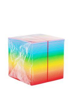 Herlitz Bloc Notite Color 9X9X9 CM 800 File Curcubeu