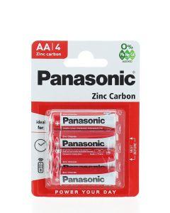 Panasonic Baterii R6 4 buc Zinc Carbon