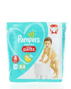 Pampers Scutece chilotel nr.4 9-15 kg 29 buc Baby-Dry