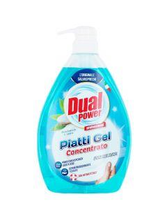Dual Power detergent pentru vase cu pompa 1000 ml Bicarbonato & Salvia