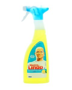 Mastro Lindo(Mr.Proper) Solutie curatat multisuprafete cu pompa 500 ml Lemon