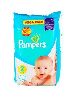 Pampers Scutece nr.2 4-8 kg 144 buc Mega Pack