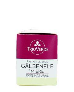 Trio Verde Balsam de buze cu Galbenele si Miere 4 g