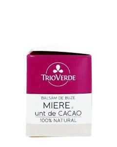 Trio Verde Balsam de buze cu Cacao si Miere 4 g