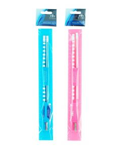 Set scolar (2 creioane+radiera+rigla+ascutitoare) diverse culori
