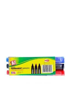 Set Markere 3 culori (3 bucati) permanent