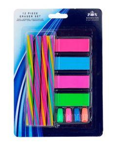 Set 12 radiere colorate