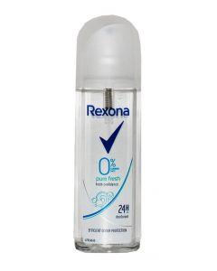 Rexona Spray deodorant fara gaz 75 ml Pure Fresh 0% Aluminium