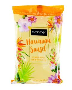 Sence Beauty Servetele umede 15 buc Fresh Citrus