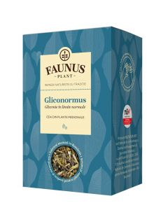 FAUNUS Ceai Gliconormus 90 g (Glicemie in limite normale)