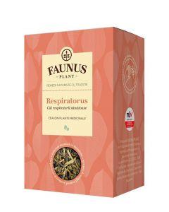 FAUNUS Ceai Respiratorus 90 g (Cai respiratorii sanatoase)