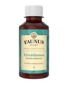 FAUNUS Tinctura Tiroidianus 200 ml (Tiroida sanatoasa)