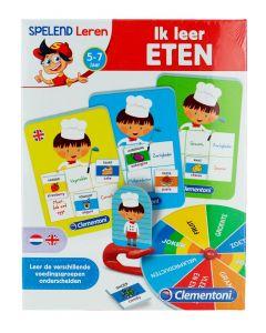 """Clementoni Joc educativ """"Ik Leer Eten'' (Learn To Eat)"""