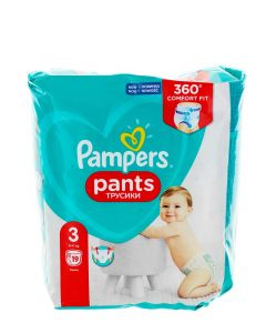 Pampers scutece chilotel nr.3 6-11 kg 19 buc Fit