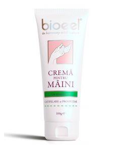 Bioeel Crema pentru maini-catifelare si prospetime 100 g Vitamina A