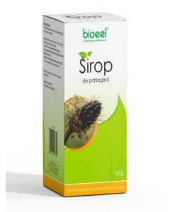 Bioeel Sirop de patlagina-expectorant in tuse productiva 150 ml