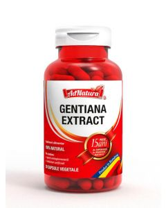 AdNatura Gentiana Extract 30 capsule vegetale