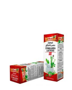 AdNatura Stimularea Lactatiei-extract gliceric 50 ml fara alcool