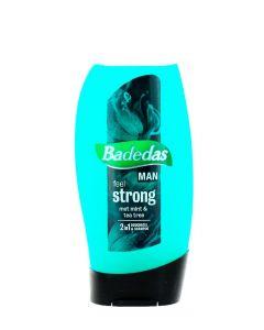 Badedas Gel de dus Barbati 250 ml 2in1 Feel Strong