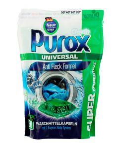 Purox Detergent Capsule 30 buc Universal