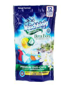 Der Waschkonig Detergent Capsule 12 buc Universal