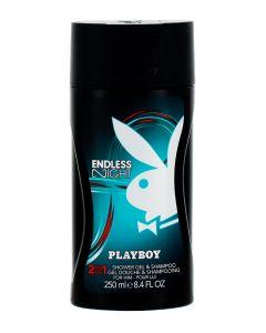 Playboy Sampon&Gel de dus barbati 250 ml Endless Night