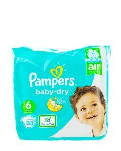 Pampers Scutece nr.6  13-18 kg 33 buc Baby-Dry