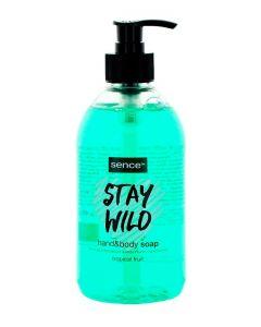 Sence Beauty Sapun lichid pentru maini&corp cu pompa 500 ml Tropical Fruit