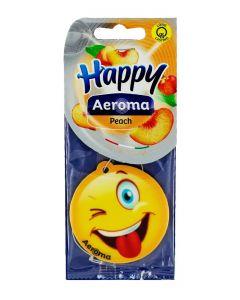 Happy Aeroma Odorizant auto 1 buc Peach