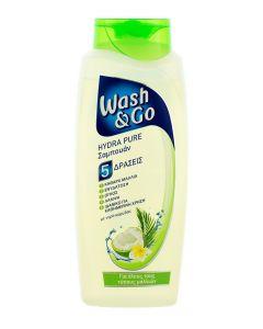 Wash&Go Sampon 700 ml 5in1 Hydra Pure