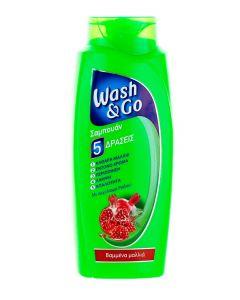 Wash&Go Sampon 700 ml 5in1 Coloured