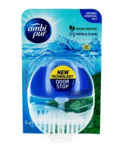 Ambi Pur Aparat odorizant WC+rezerva 55 ml 5in1 Fresh Water&Mint