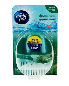 Ambi Pur Aparat odorizant WC+rezerva 55 ml 5in1 Tea Tree&Pine