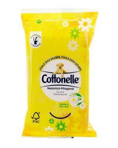 Cottonelle Servetele umede 12 buc Kamille&Aloe Vera