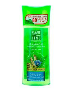 Plant Line Sampon fara silicon 250 ml Volum&Vitalitate