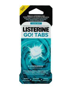 Listerine Tablete Masticabile 8 buc Clean Mint