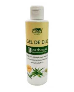 Ceta Gel De Dus Cu Bicarbonat 200 ml Aloe,Galbenele,Musetel
